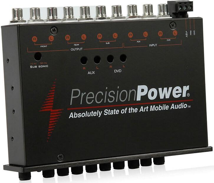 Precision Power PPI E.7 Parametric Car Equalizer