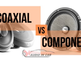 coaxial vs component car speakers