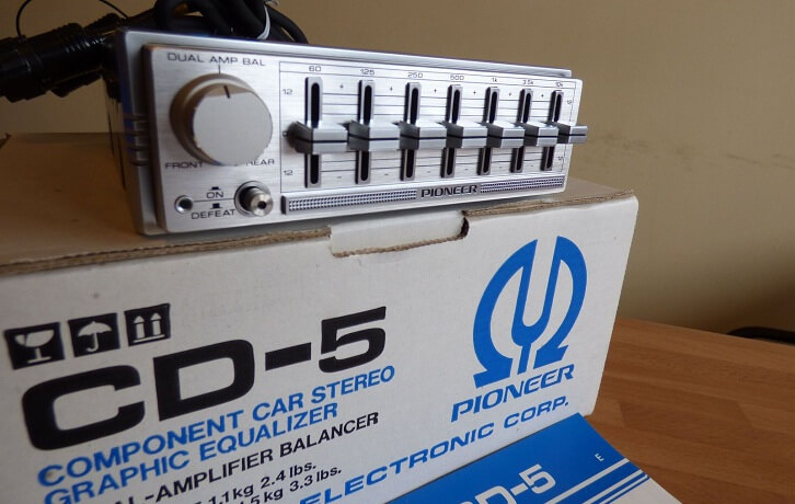Pioneer CD-5 Graphic Equalizer